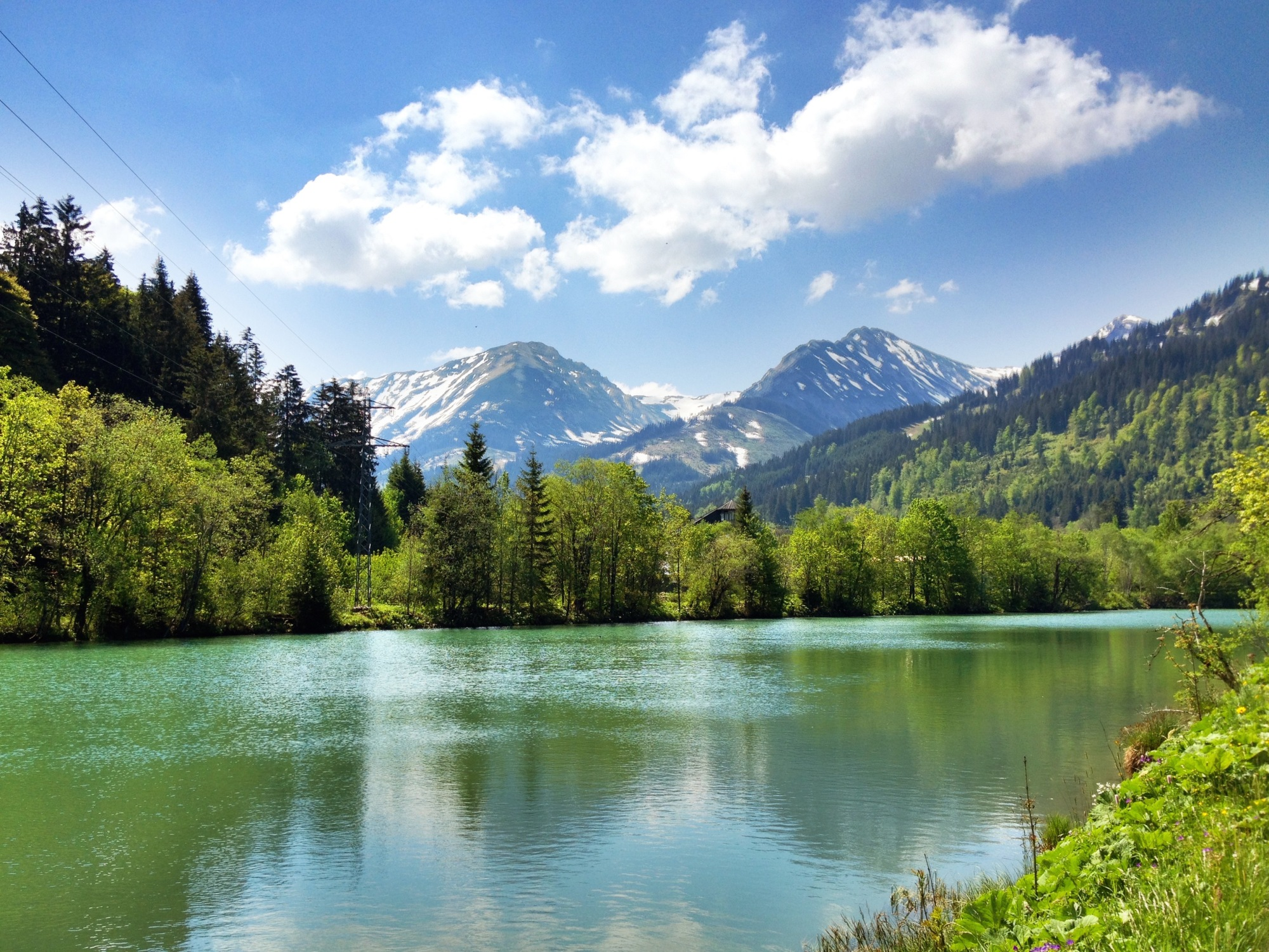 Unterjoch, Germany and Rehbach Austria