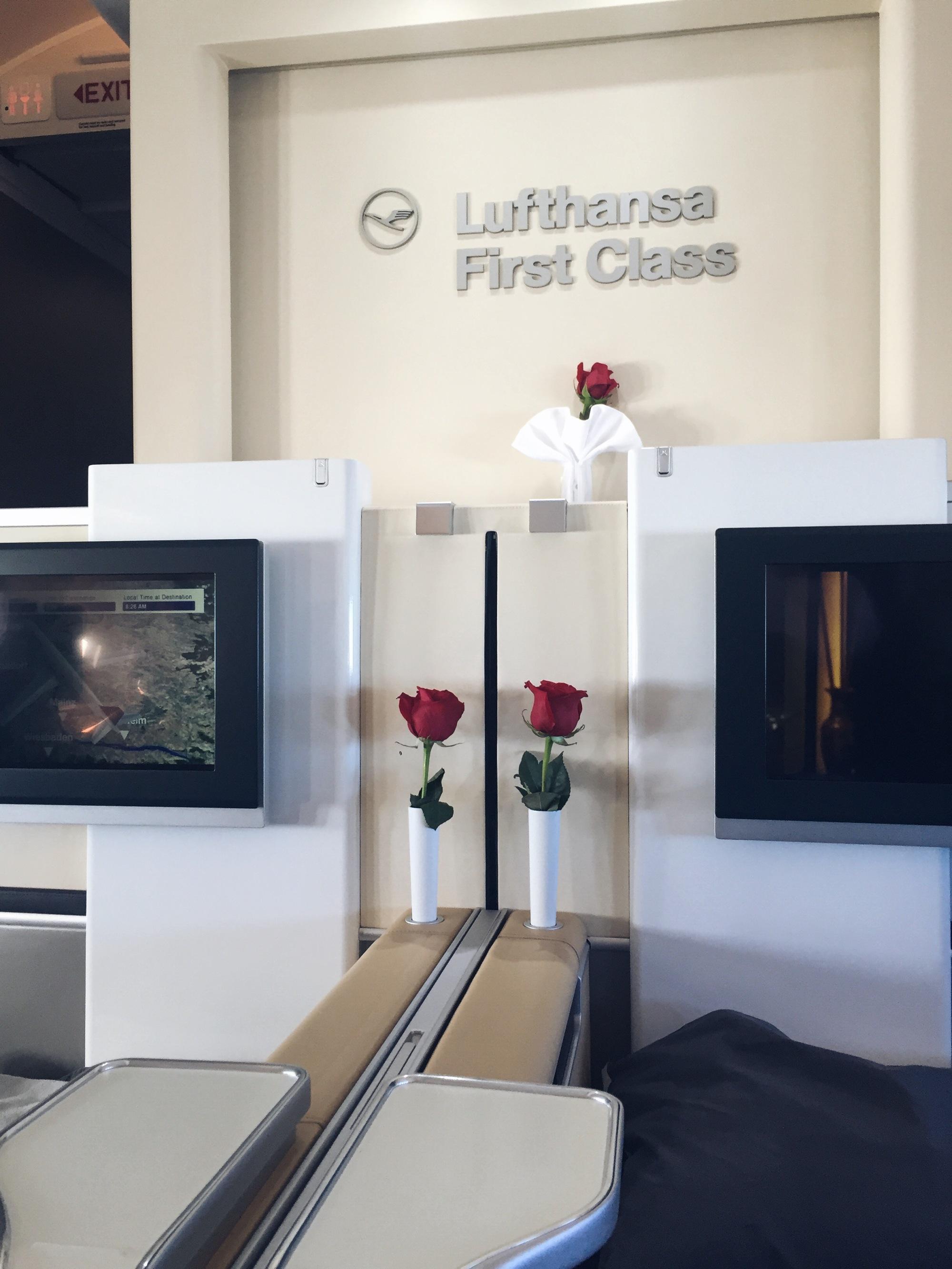 Lufthansa First Classs